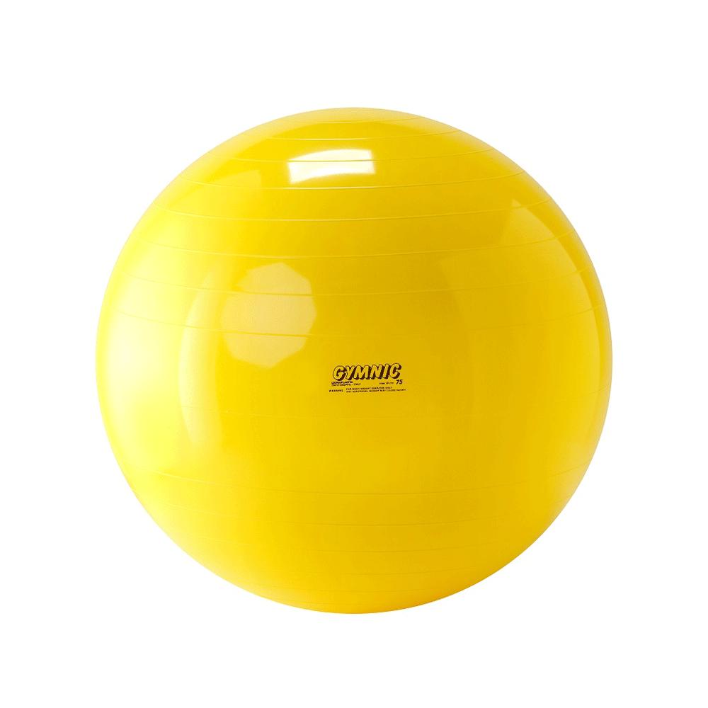 Bola suiça para pilates rpg fisioterapia 75cm - gyminic - fisiofernandes 82a51d6dc67b1