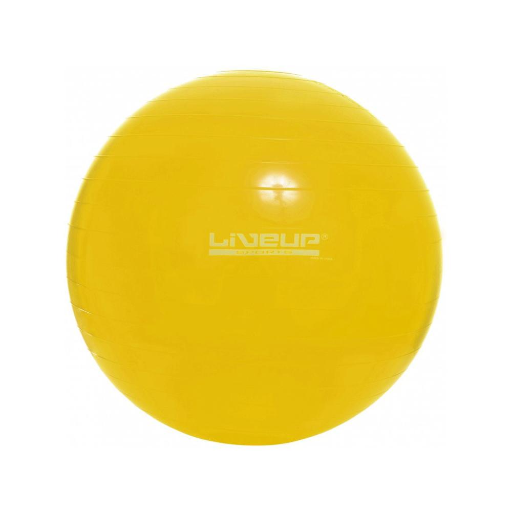 Bola suiça para pilates 75cm - liveup b75a3ae43ea3a