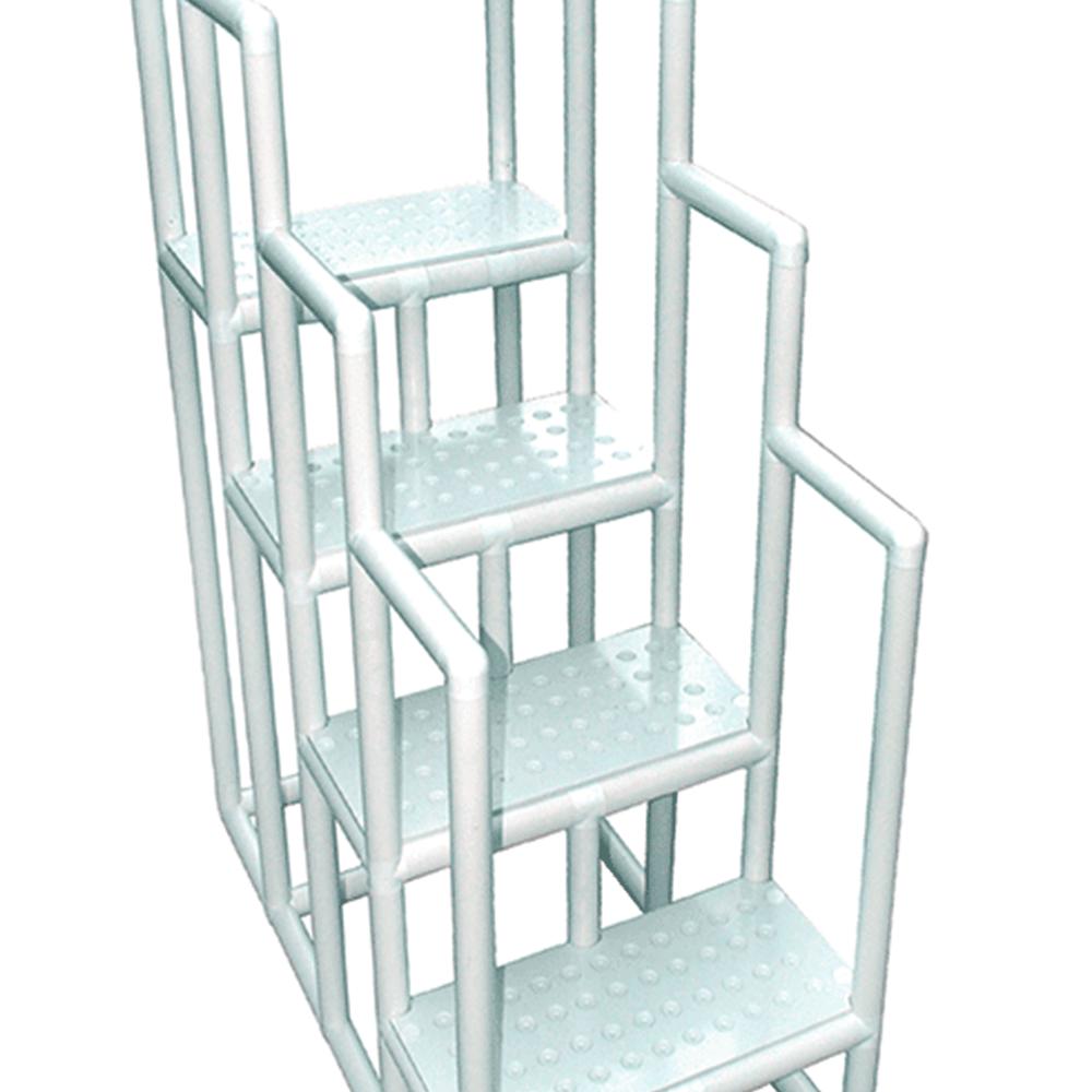 ed58adee5e2aa Escada para hidroterapia em pvc - 6 degraus - floty - fisiofernandes ...