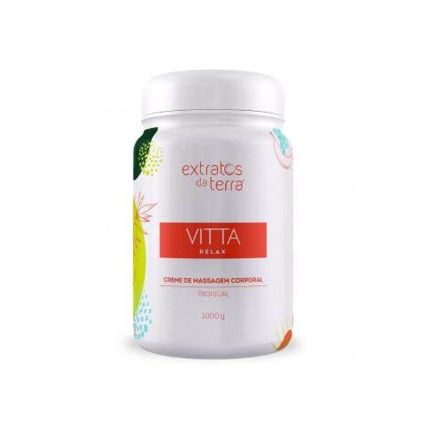Vitta-relax-tropical-creme-de-massagem-corporal-1kg---extratos-da-terra